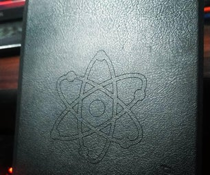 Customizing a Kindle Cover With a Laser Machine