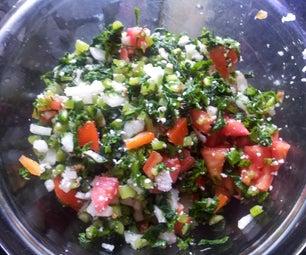 Raddish and Tomato Salad