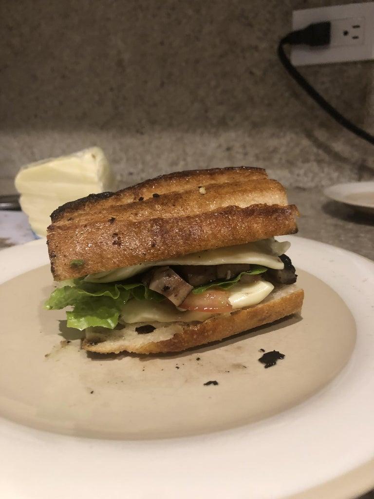 Step 4: Finish the Sandwich