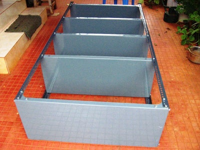 Align the Storage Rack