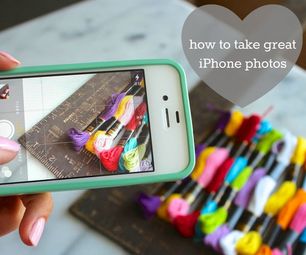 Take Great Photos With an IPhone