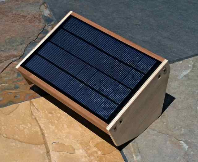 Large solar panel for the MightyMintyBoost