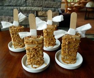 Caramel Apple Popsicles