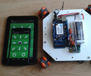 Omni Wheel Mobile Robot - IoT