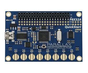Meet the Parallax Propeller QuickStart Board
