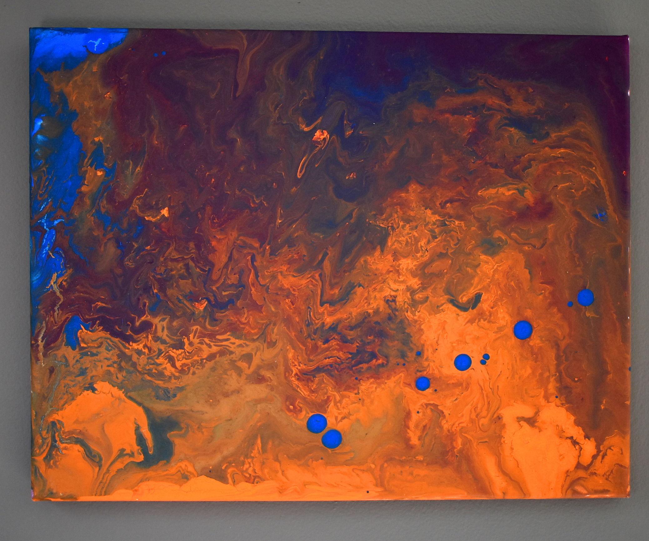 Dirty Flow Painting - Acrylic Magic!