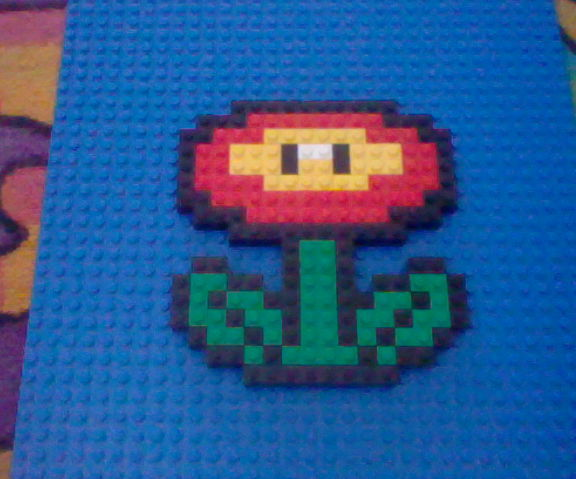 8-Bit LEGO Nintendo mosaics