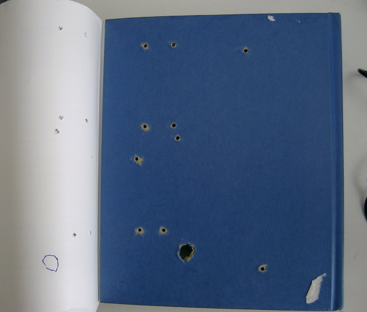 Holes for Attaching Circuit Boards