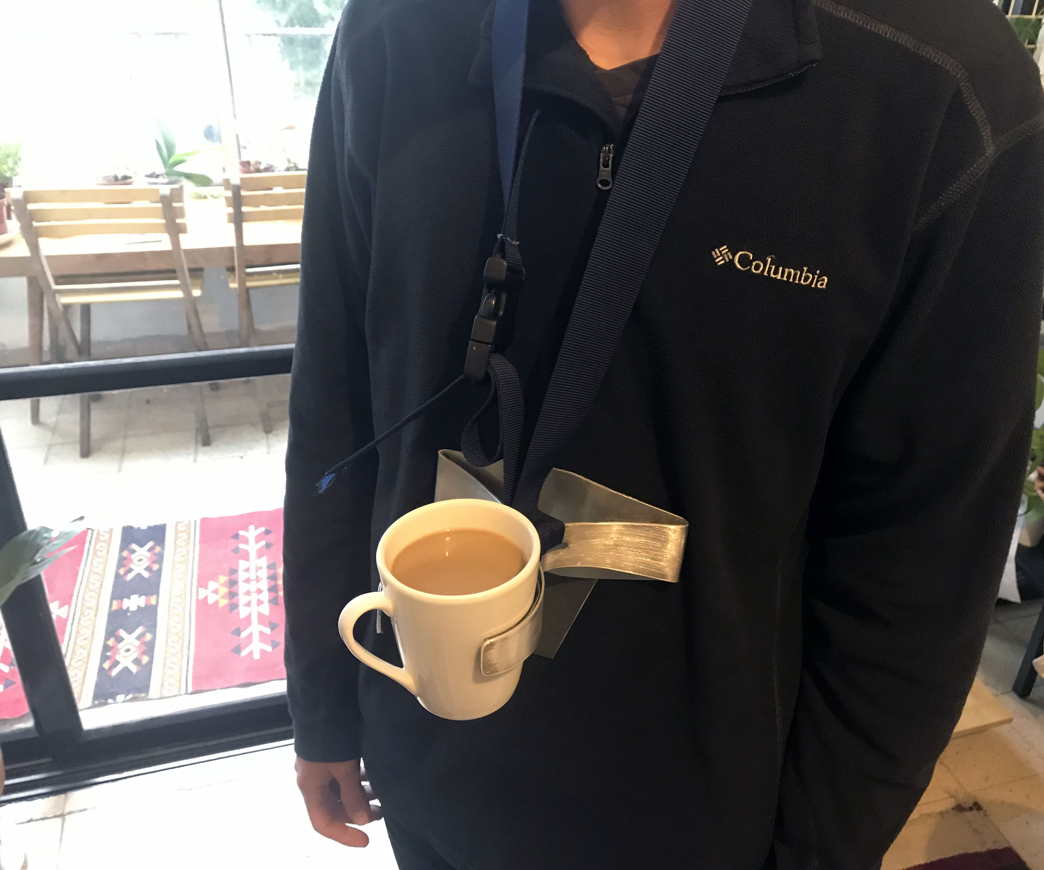 Neck Cup Holder for Carrying