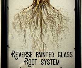 Reverse Glass Painting