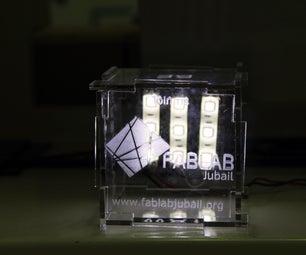 Refracting Light Through Acrylic Using Laser Engraving