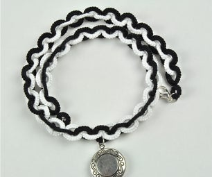 Tatted Chain Necklace