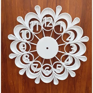 Decorative Wall Clock - 3D Printed