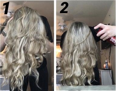 Shake Hair and Part