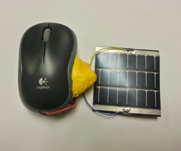 Solar Powered Mouse