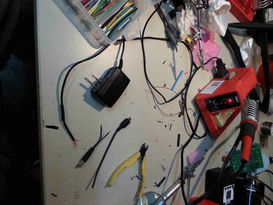 Prepare the Serial Cable and Power Cables