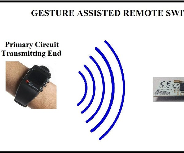 GESTURE ASSISTED REMOTE SWITCH CONTROL FOR PEOPLE WITH DISABILITIES