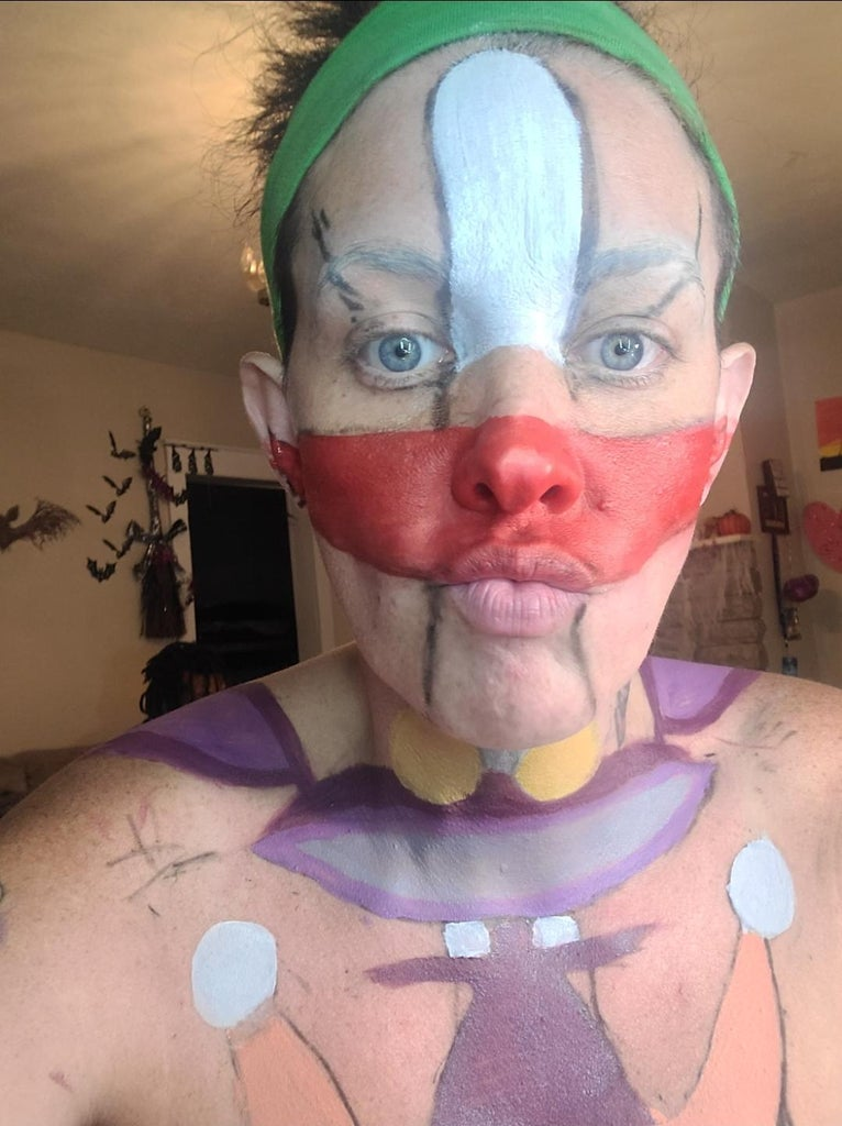 Body Paint Character Picture