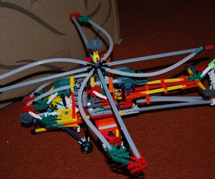 Knex Apache Helicopter Model