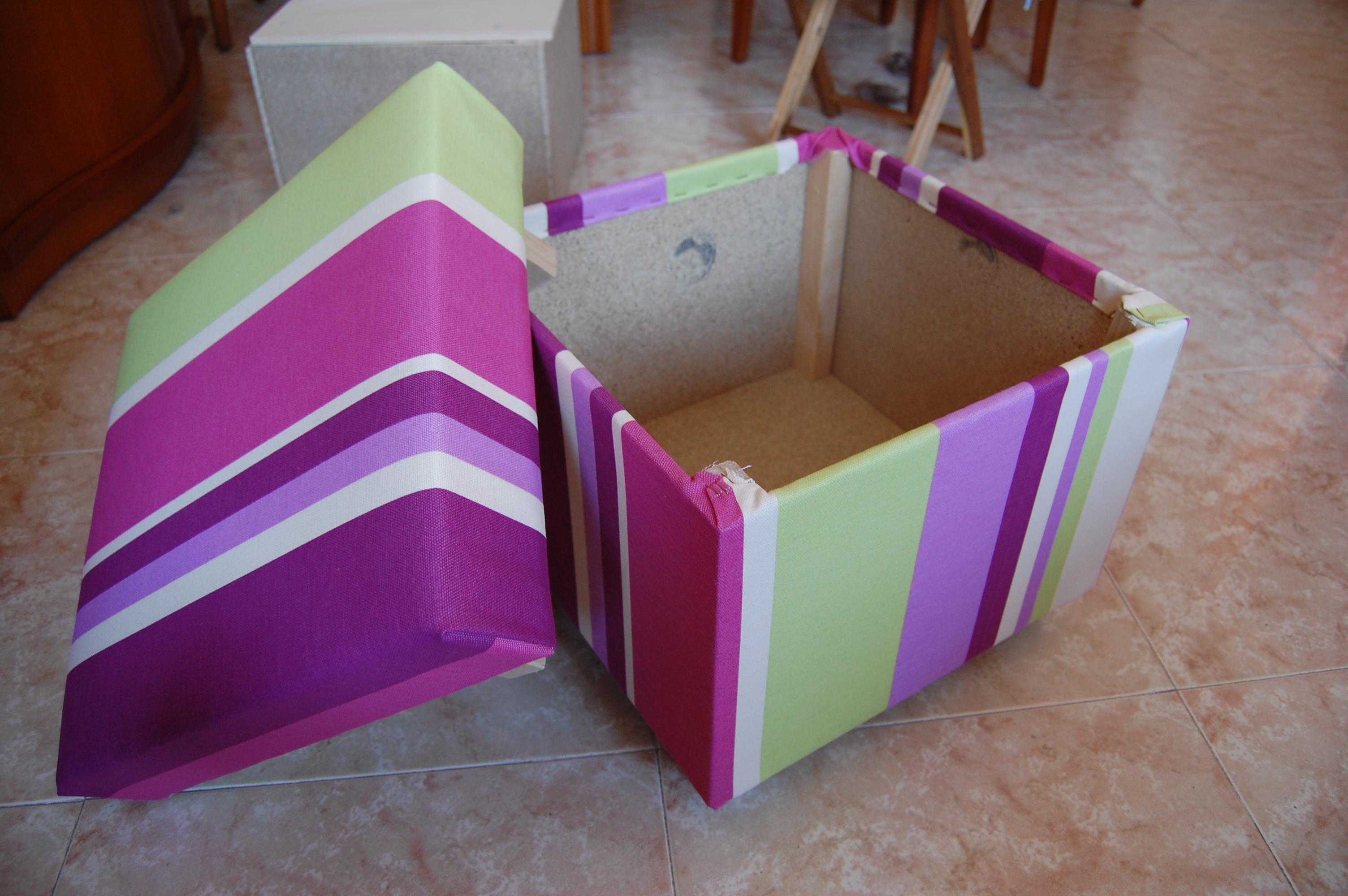 Ящик из коробки своими руками