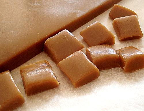 Grandma's Super Easy Caramel Chews