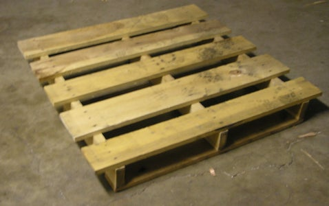 Have an 40 by 60 Shipping Pallet