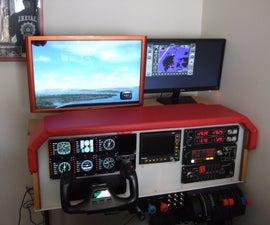 DIY Flight Simulator Cockpit