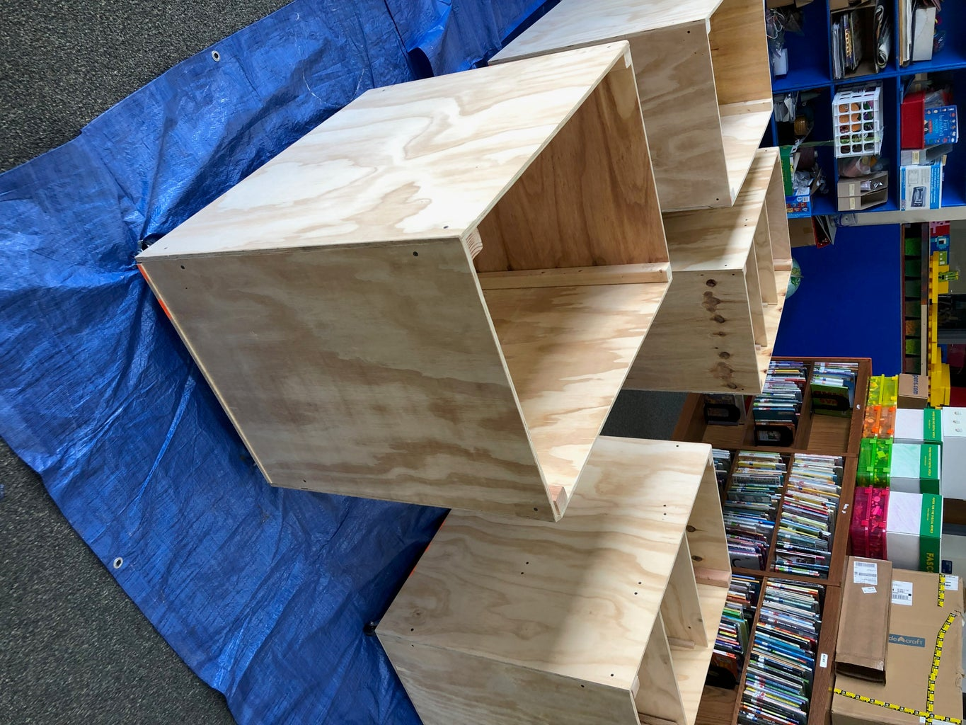 Acquire Plywood Bins