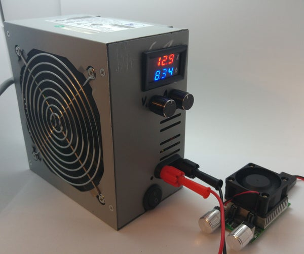 1-30V Benchtop Power Supply in ATX PSU House