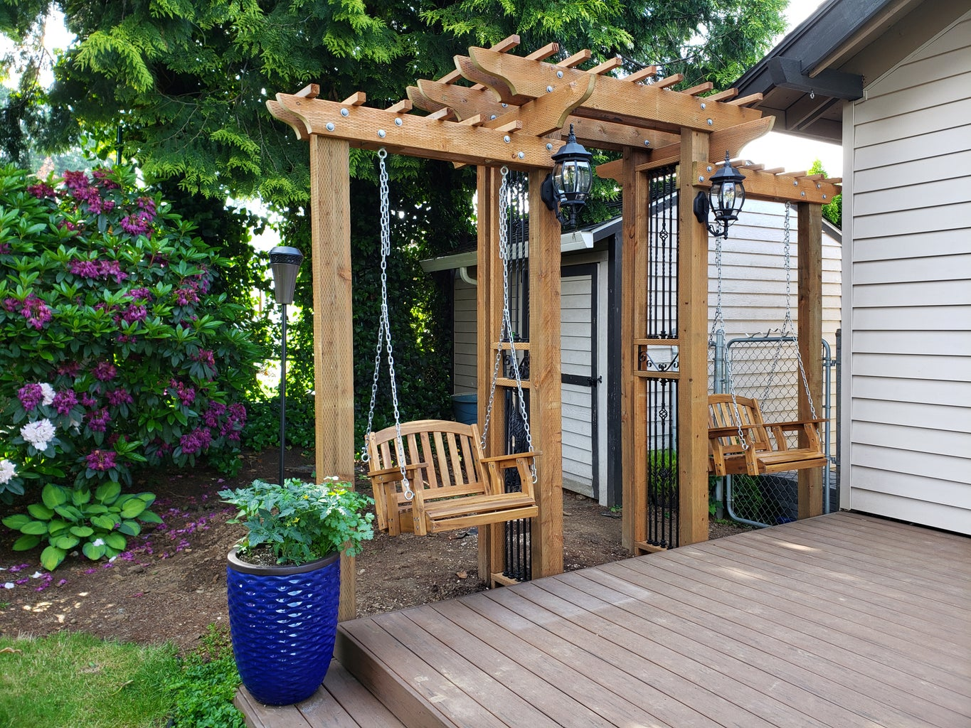 Installing 2nd Tier Wood Bars