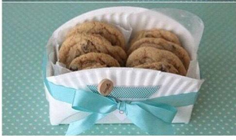 How To Make A Mini Cookie Basket