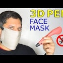 No Sewing Face Mask With a 3D Pen