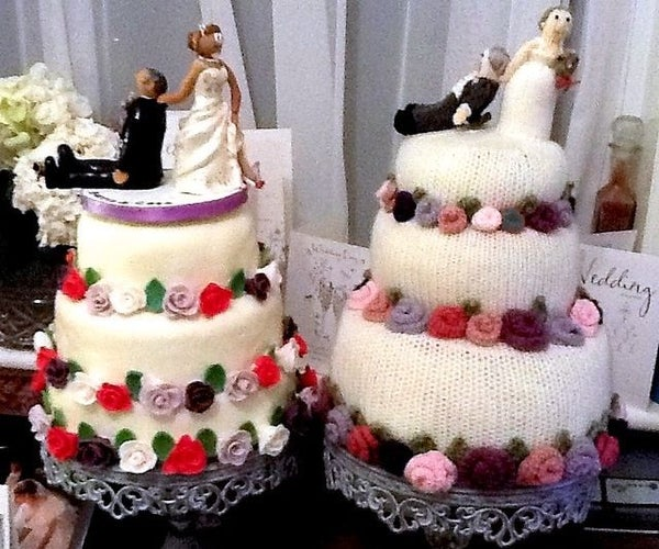 My Knitted Wedding!