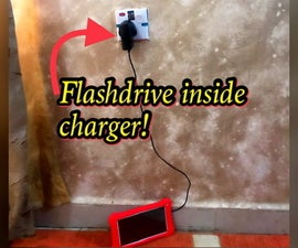 Hide Items Inside a Phone Charger!