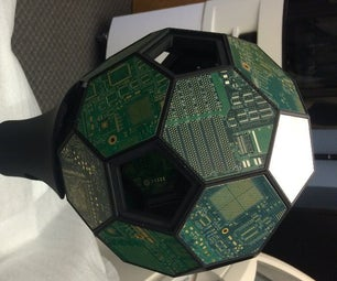 3D Printed Ball and Stand