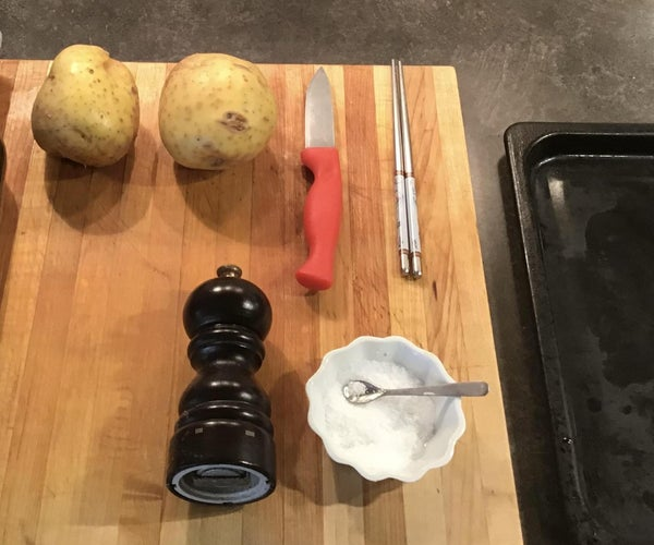Hassle Back Potatoes