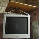 Wall mount for CRT monitor
