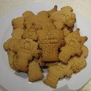 Gluten Free, Ginger Robot Cookies