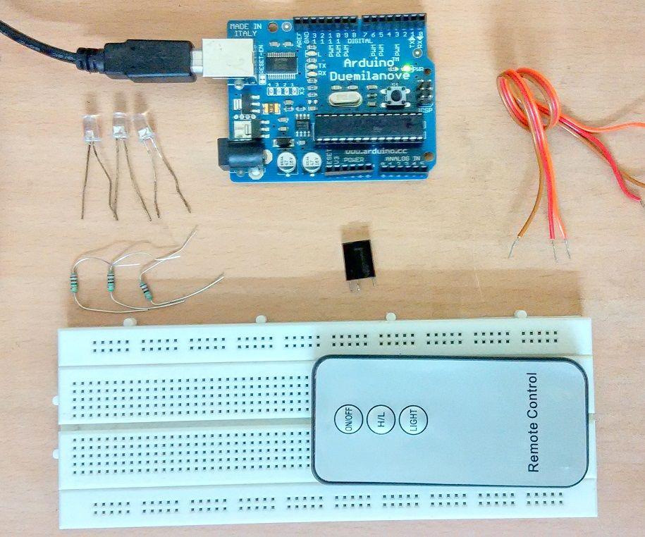 Arduino IR Remote Control