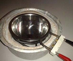 Zero Cost Aluminum Furnace (No Propane, No Glue / Epoxy, No Welding, Individually Replaceable Parts)