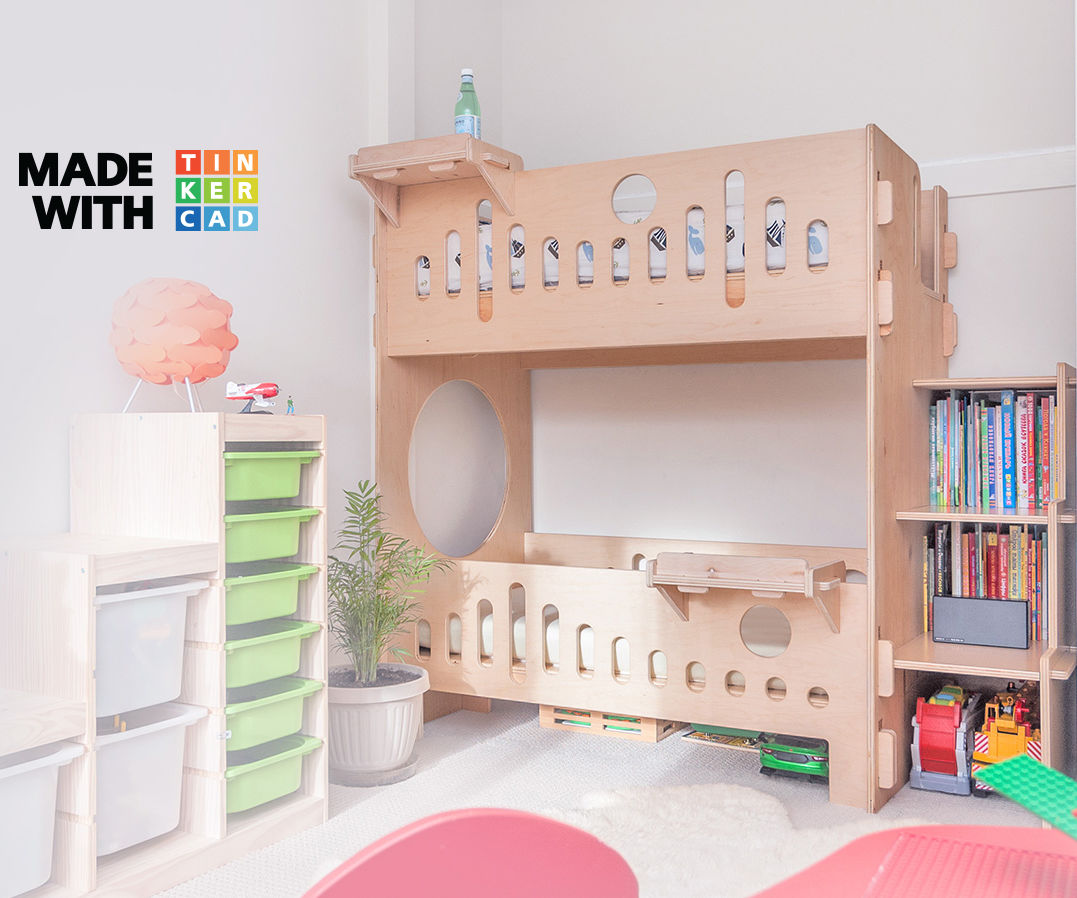 Picture of: Bunk Bed With No Screws 7 Steps With Pictures Instructables