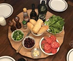 Pan Bagna - a Vegetarian Delight