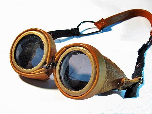 Leather Steampunk Goggles