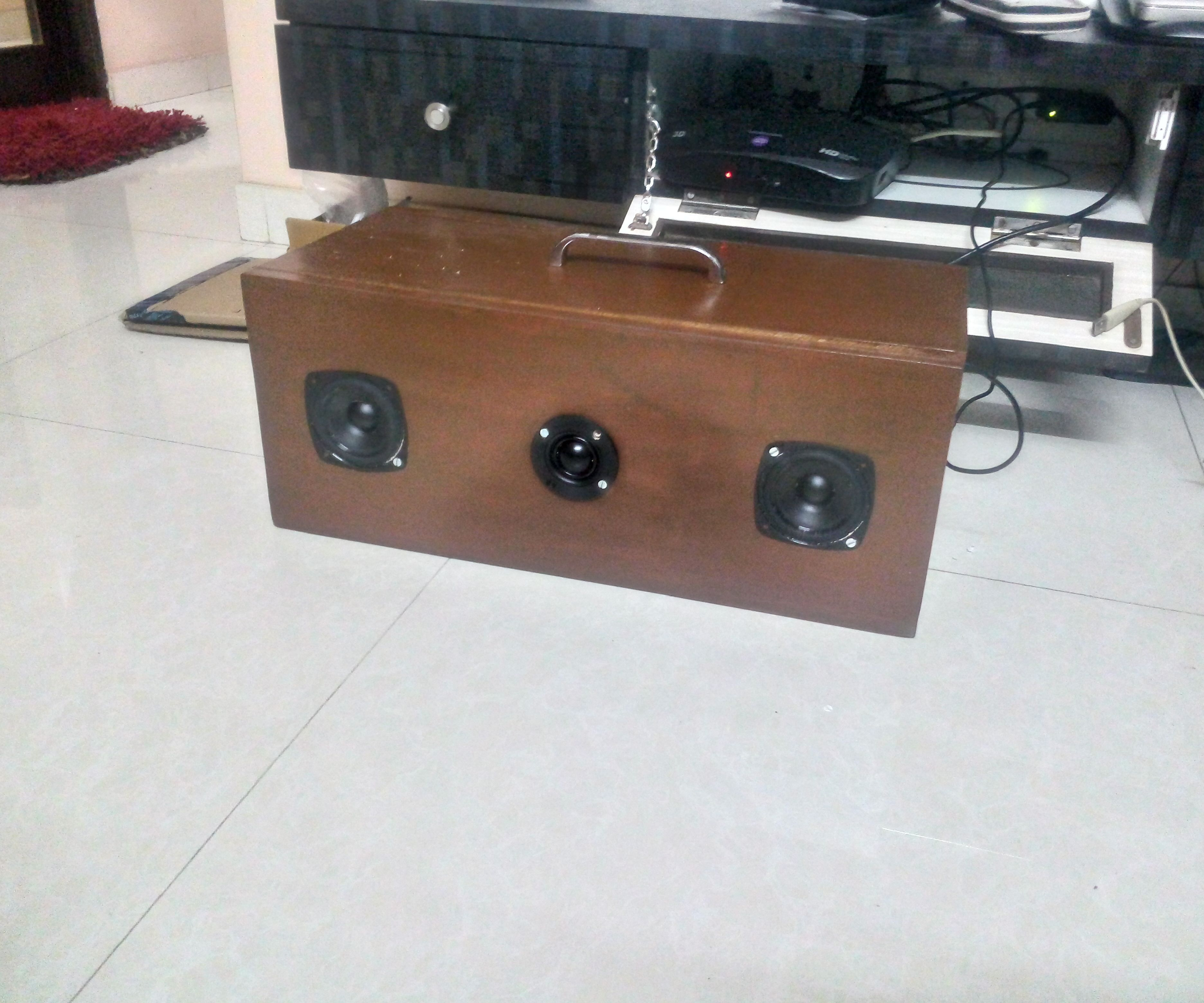 Air play speakers with Raspberry pi and hifi berry amp +