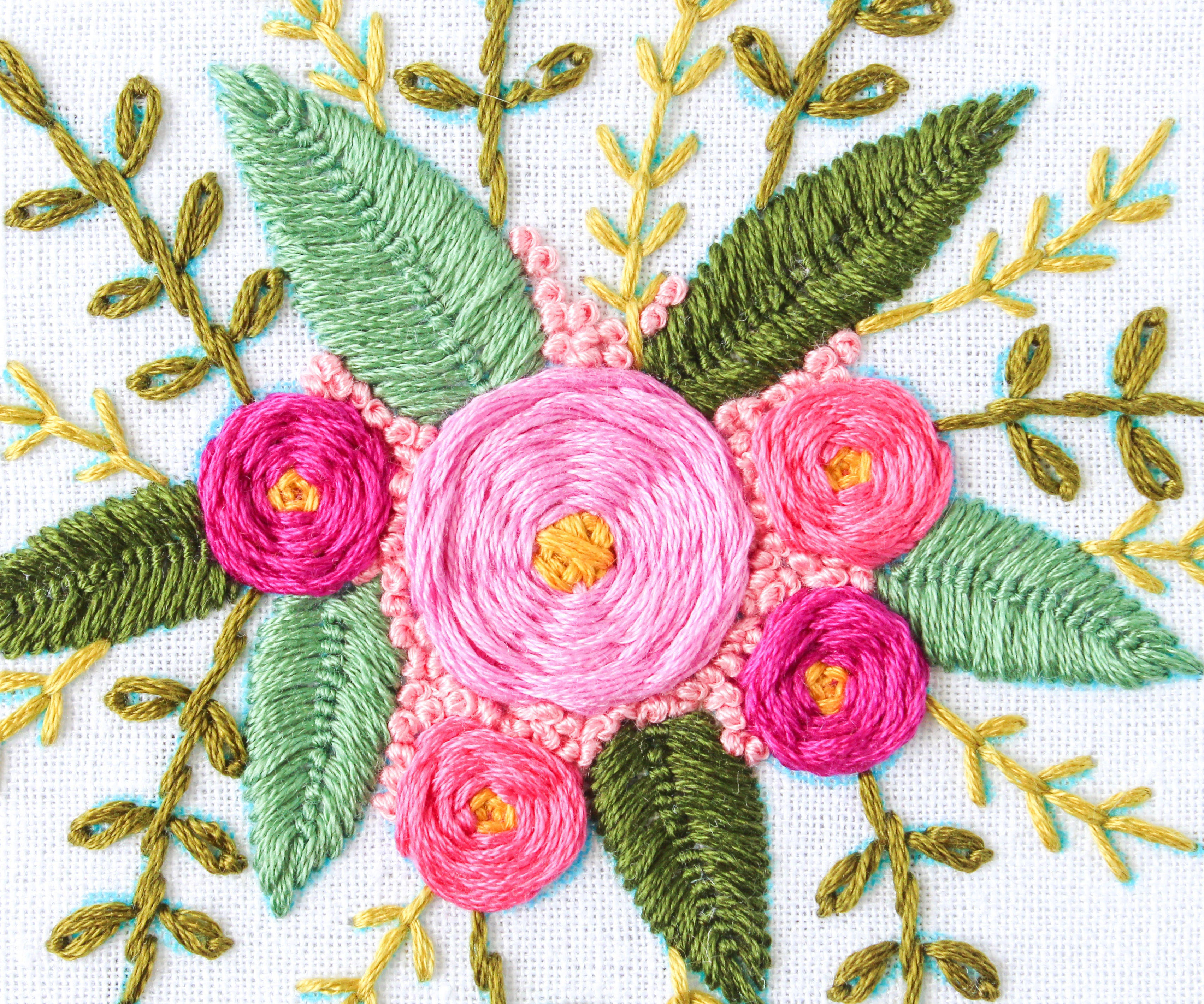 How to Hand Embroider Flowers  20 Steps with Pictures ...