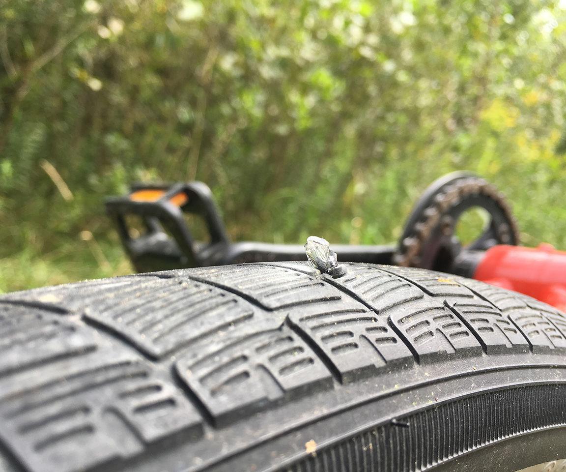 Bike Tire Blowout! How to Fix-a-Flat