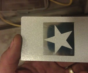 Etching Aluminum by Sand Blasting at the TechShop.