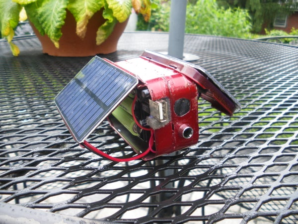 Double Altoids Solar Charger