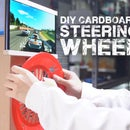 DIY Cardboard Steering Wheel