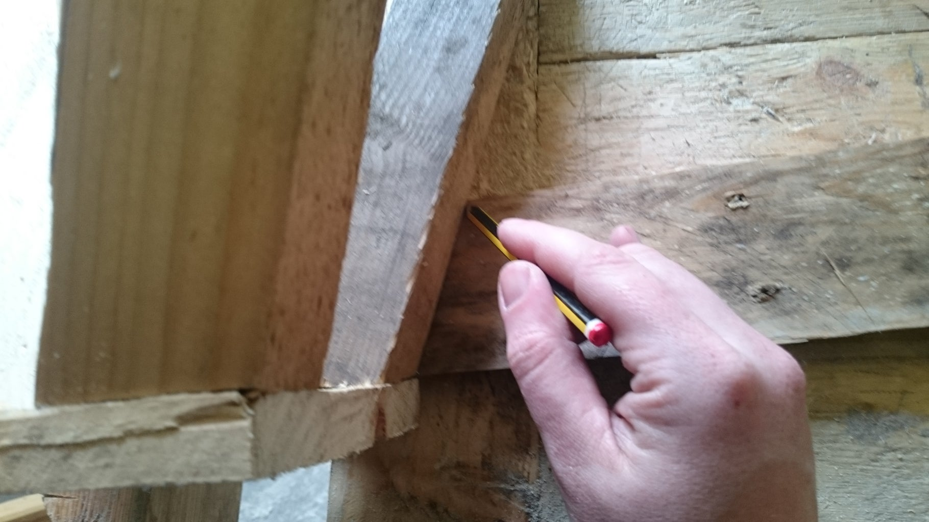 Cutting and Attaching the Sides